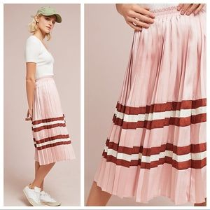 Sporty Pleated Skirt by Anthropologie